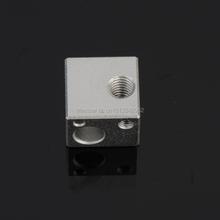 Free shipping for 3D Printer Aluminium Heat Head Block for E3D RepRap Makerbot MK7 MK8 Extruder