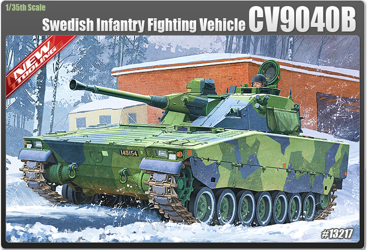 Academy model 13217 1/35 scale CV9040B Infantry Fighting Vehicle plastic model kit<br><br>Aliexpress