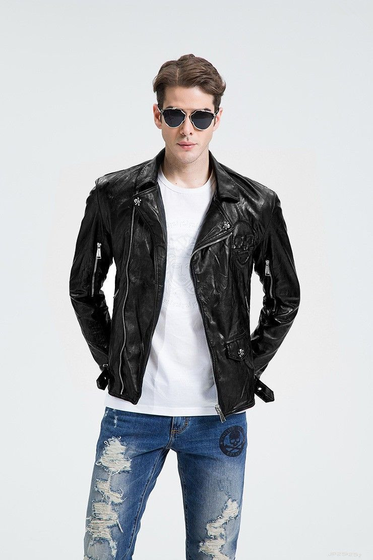 Leather jackets mens style