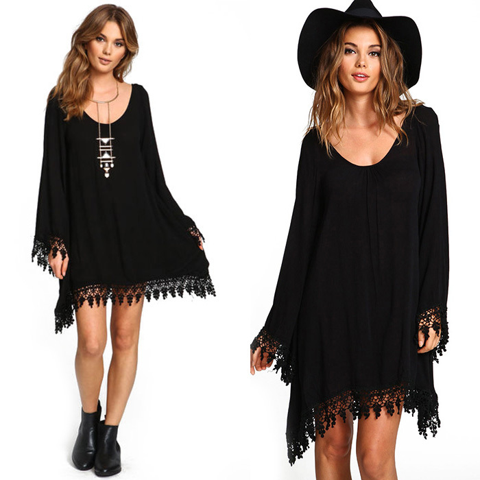 Black Clothing Designers For Women Women Fashion Black Long