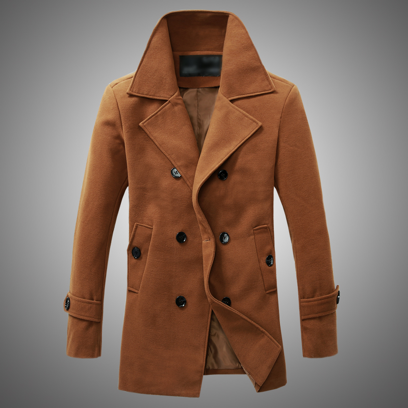 Buy Mens Wool Coat 6Q2Hu3