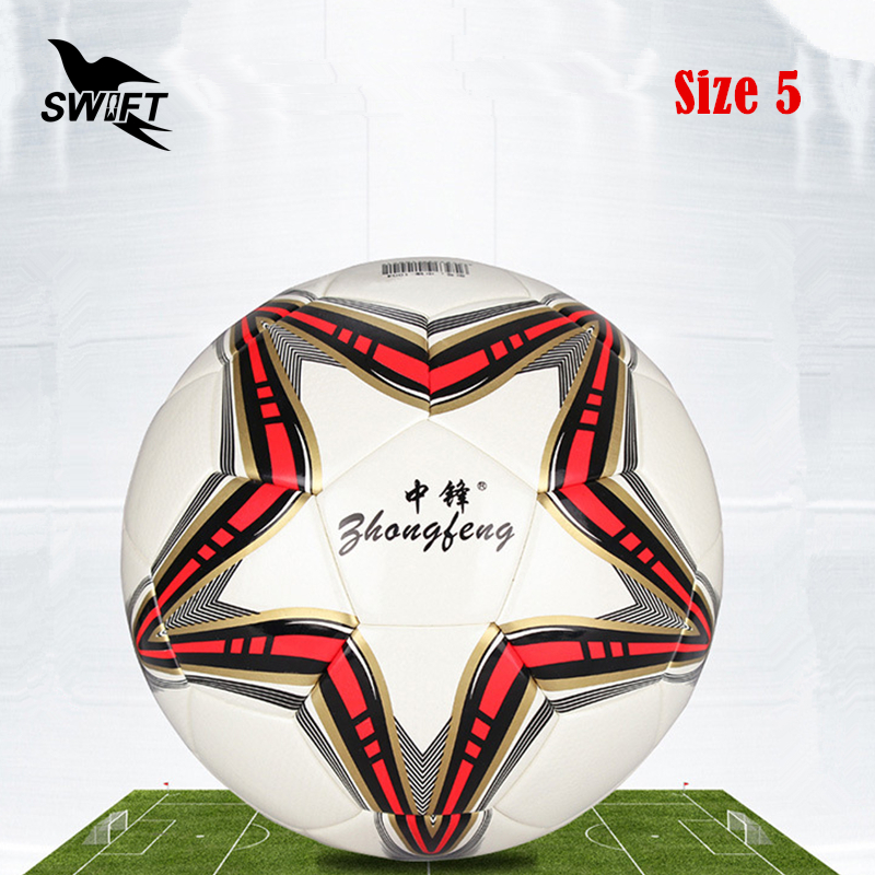 Original Brand Professional Size 5 Euro Football Ball 2016 PU Leather Official Soccer Ball Cheap Foot Ball Training Soccer Goal(China (Mainland))
