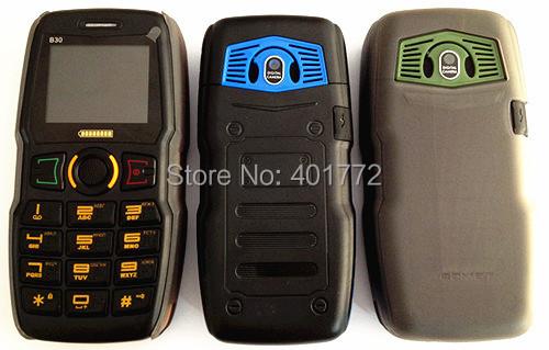 ADMET B30 Power Bank Function 5000mAh Battery Big Torch Russian Keyboard Loud Speaker MP3 Player Camera Bluetooth Senior Phone