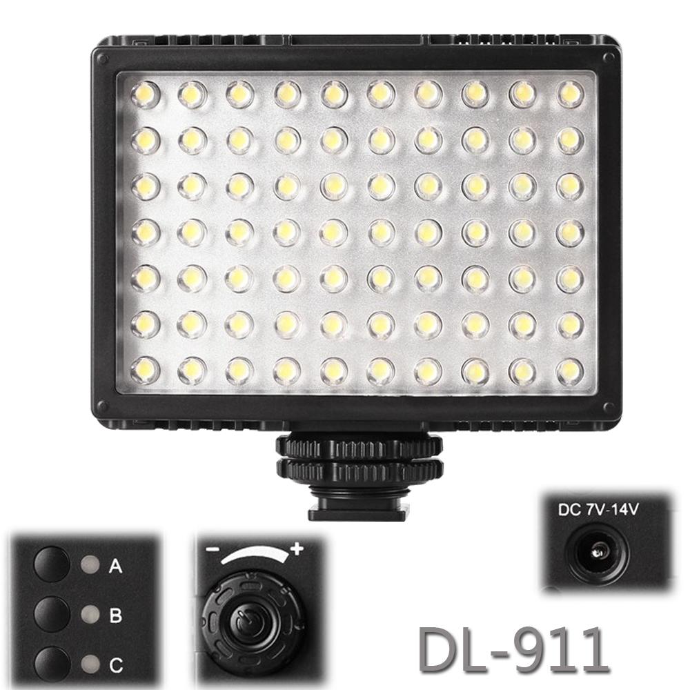 Pixel Sonnon DL-911 2.4G Wireless Group 70 LED Video Light for DSLR DV Camcorder<br><br>Aliexpress