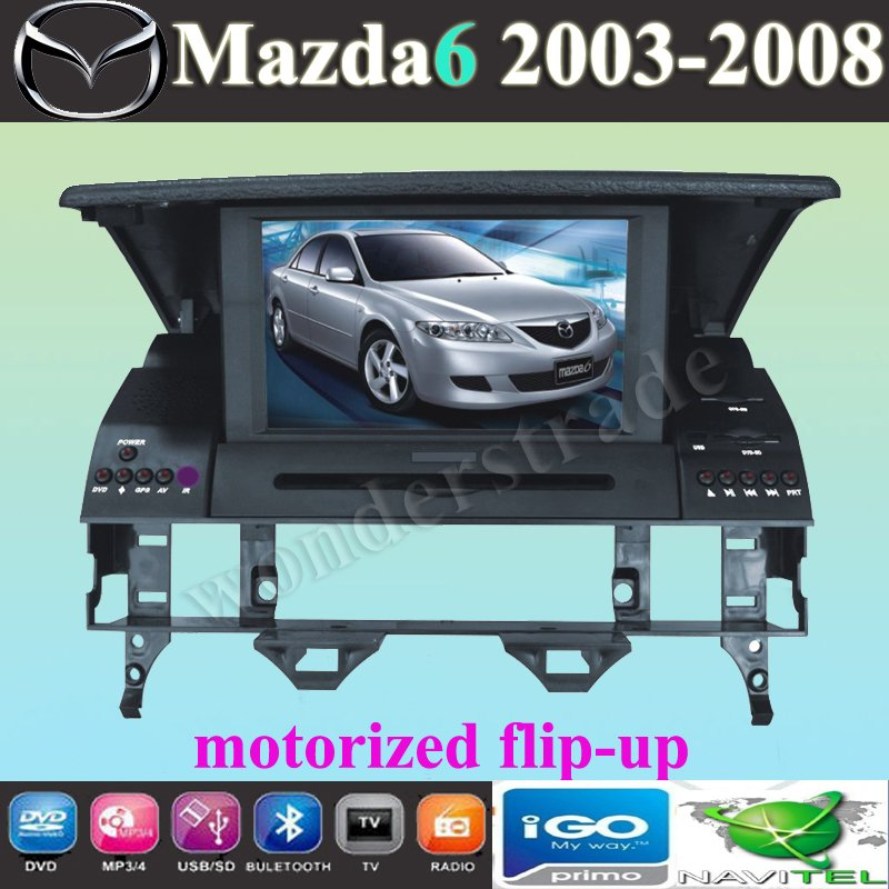 New Car DVD Player With GPS navigation For MAZDA 6 (2003-2008) / mazda6 2008(China (Mainland))