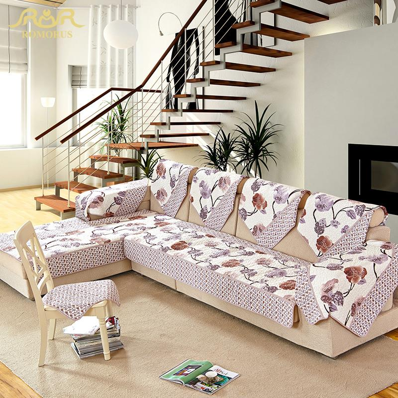 Fabric Corner Sofa Reviews Online Shopping Fabric Corner  : ROMORUS font b Sofa b font Cover Set Sectional Slip Cover font b Sofas b font from www.aliexpress.com size 800 x 800 jpeg 157kB