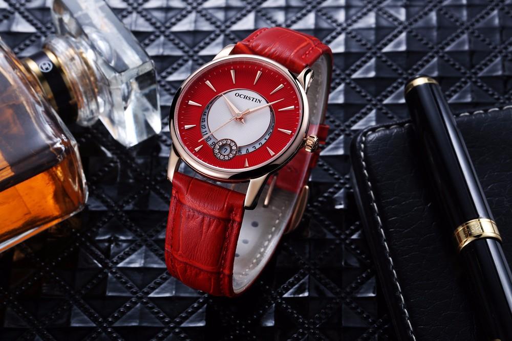 Дамы Сапфир Кварцевые Часы Женщины Rhinestone Кожаный Вскользь Платье женские Часы Кристалл Часы mujer reloje 2016 montre femme