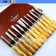 12 sets Carving chisel Wood chisels Carved Knife Set - FYXH Household Franchise Store store