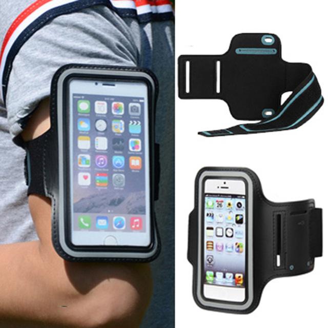 スポーツエクササイズ · アクセサリー ホルダー ケース アーム バンド ランニング手首電話バッグ保護カバー用blu