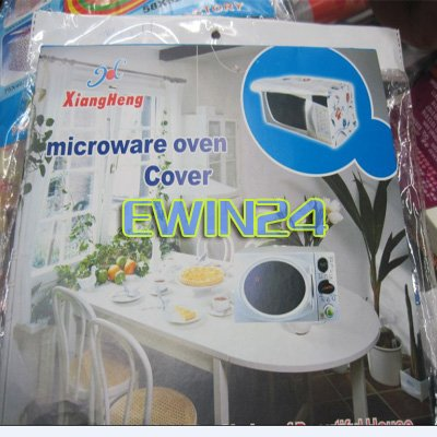 Free shipping Universal House Microwave Oven Cover PEVA 57*40CM Recyclable Eco-friendly 100%New Good Quality 300pcs/lots(China (Mainland))