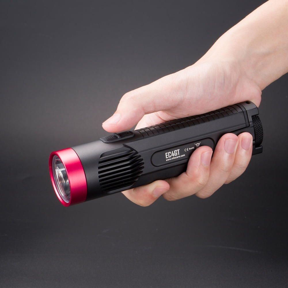 2016 NEW NITECORE EC4GT(Red) LIMITED EDITION Handy Portable 1000 Lumens Emitter Flashlight Torch Lamp Light for Hunting Camping(China (Mainland))