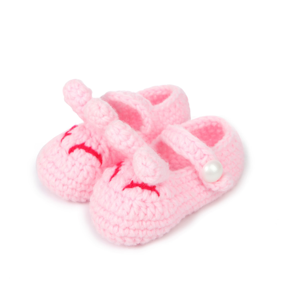 TipsieToes crochet baby patterns minion Baby Shoes second hand infant knitted shoes Toddler Girl Boy Wool kids shoes ROH1027-1(China (Mainland))