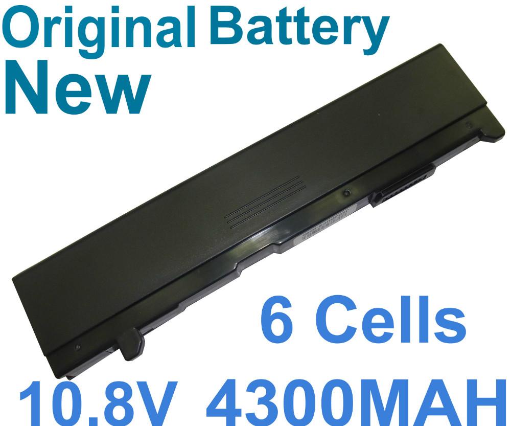 Original Genuine battery For TOSHIBA Tecra A4 A4-108 A4-109 A3-SP611 A4-158 A4-161 A4-164 A4-171 A4-196 6Cells 4300mAh(China (Mainland))