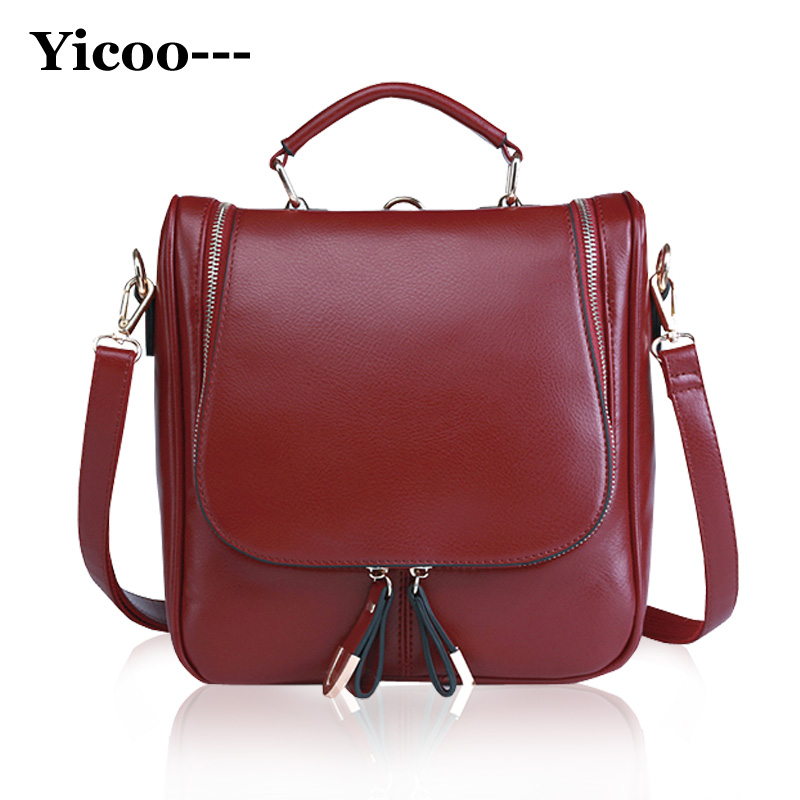 Newest Multi-function Fashion Backpacks For Teenage Girls High Quality PU Leather Hiking Backpacks Women Sac A Dos Kanken<br><br>Aliexpress