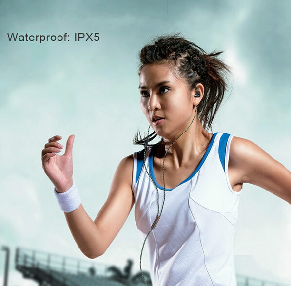 Wired Ceramic Ear Hook Running Sports Earphones Waterproof Best Cool Headphones For iPhone 6 5C 4S MP3 With Mic Blanou BE320-A(China (Mainland))