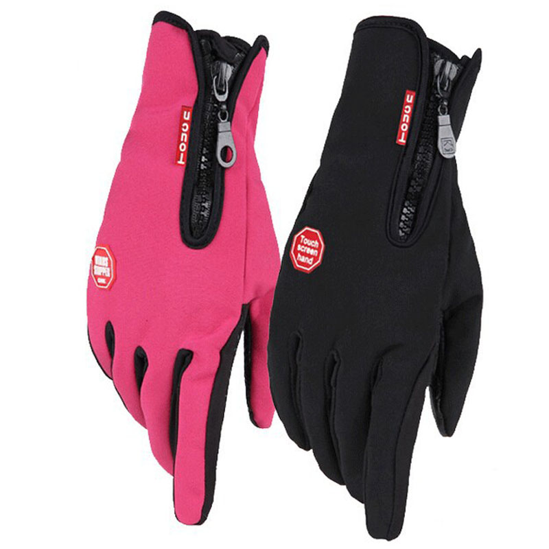 Windstopper Outdoor Sports Snowboard Skiing Gloves Bike Cycling Gloves Windproof Winter Gloves Thermal Warm Touch Screen Gloves(China (Mainland))