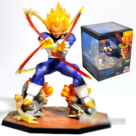 Hot Sales Anime Figure Toy Dragon Ball Z Vegeta Figurine 15cm(China (Mainland))