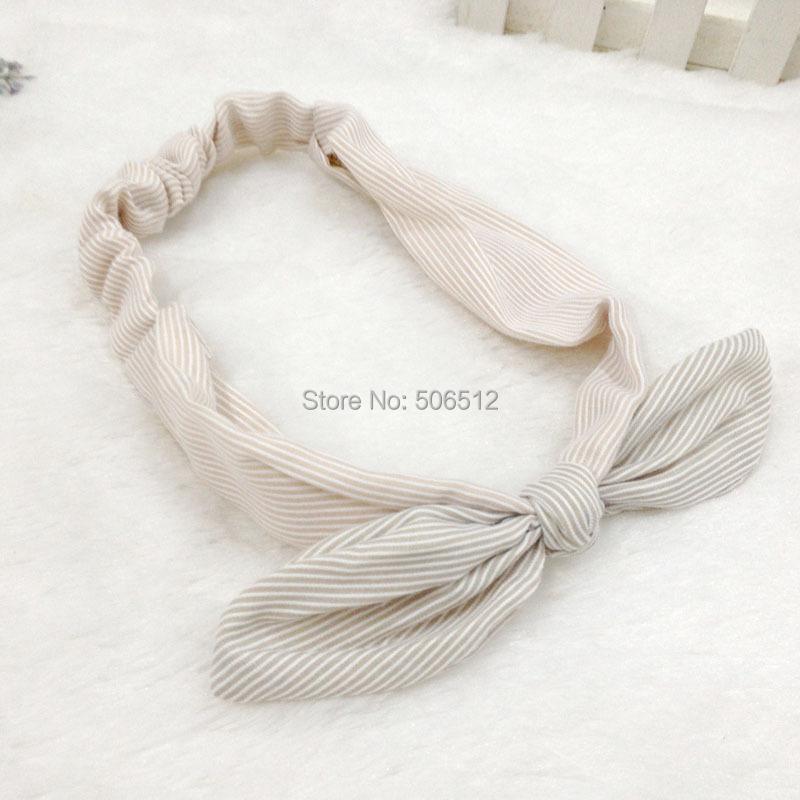 New variety of wear method Polyester Elastic Sports/Party Headbands Chiffon Cotton Headband Bow Bowknot Hair band(China (Mainland))