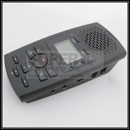 message leave message remotely listen function call history logger voice activated telephone recorder monitor,Landphone monitor(China (Mainland))