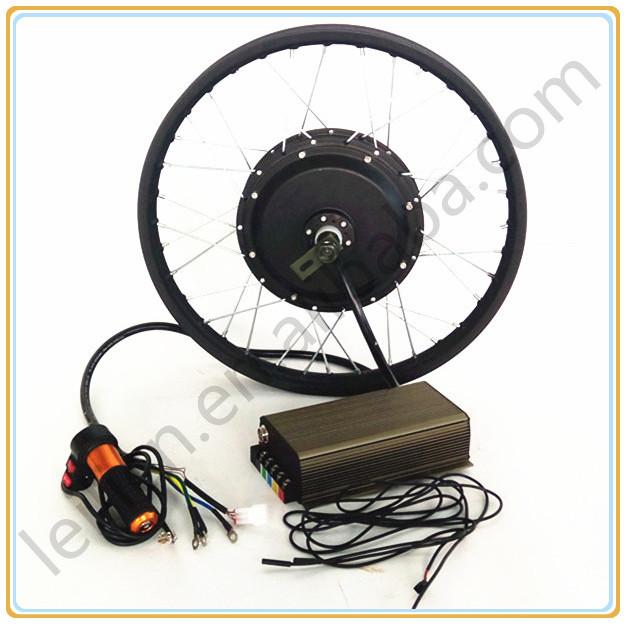 70-120kph speed, programmed controller 5000w electric bike conversion kit, ebike motor kit 5000w electric bike wheel(China (Mainland))