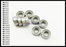 Buy 10pcs/Lot MR149ZZ MR149 ZZ 9x14x4.5mm Thin Wall Deep Groove Ball Bearing Mini Ball Bearing Miniature Bearing Brand New for $5.57 in AliExpress store