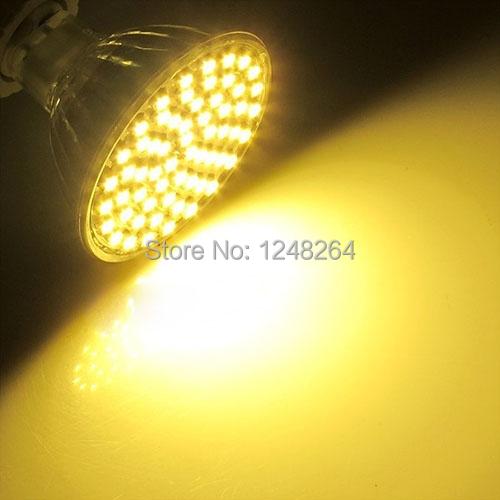 100pcs/lot MR16 SMD 3528 60leds Energy Saving Spot Down Light Lamp Bulb 12V 5W 480LM Low Power Warm White Free Shipping(China (Mainland))