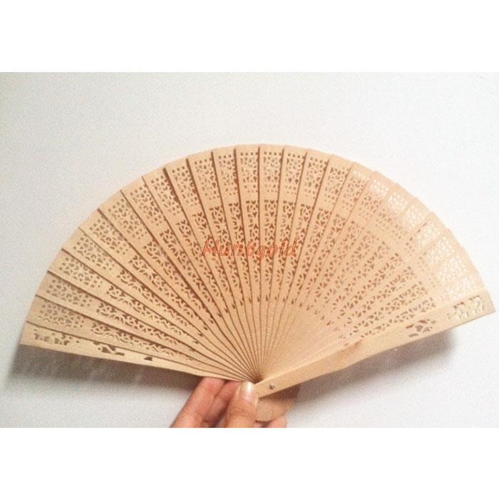 1pcs Traditional Chinese Vintage Style Incense Wood Fan Casual Use For Wedding Decoration Best Gifts Souvenir Collection(China (Mainland))