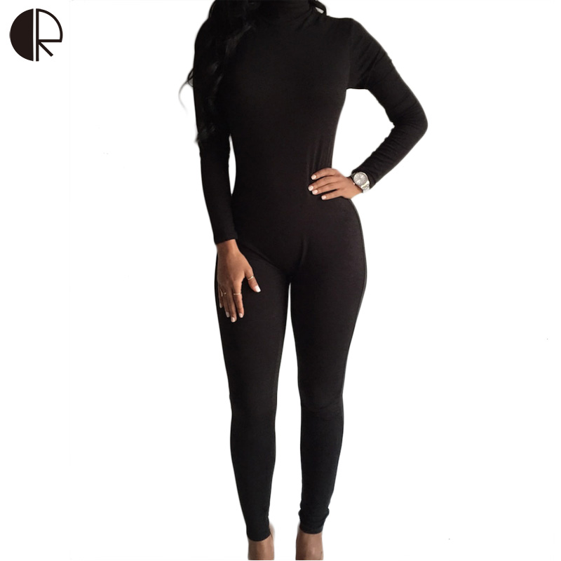 Fashion Long Sleeve Jumpsuit For Women Back Zipper Skinny Sport Rompers Womens Jumpsuit Bodysuit Overall Sports Wear WJS161(China (Mainland))
