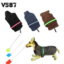 1Pcs/Lot Wholesale LED Dog Raincoat Waterproof Pet Jacket Coat Rain Poncho Puppy Clothes Pet Products S,M,L,XL,XXL Three Colors