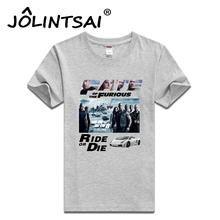 Buy Fate Furious 8 Printing T-shirt Men 2017 New Arrival Van Diesel Cotton Short Sleeve Men T shirt Summer Male Tshirt for $10.66 in AliExpress store