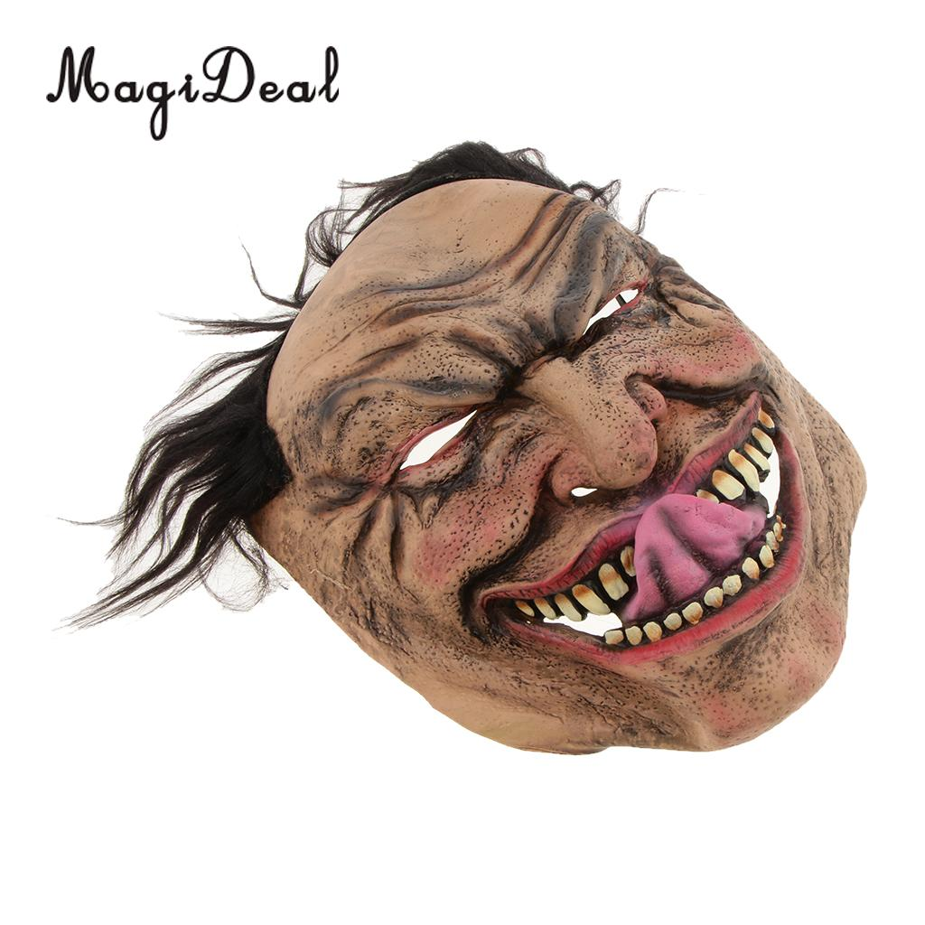 Halloween Scary Mask Wretched Man Masks Cosplay Masquerade Party Decor Props