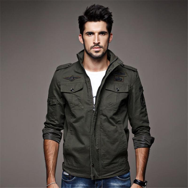 Big Pocket Cotton Military Jacket Promotion-Shop for Promotional ...