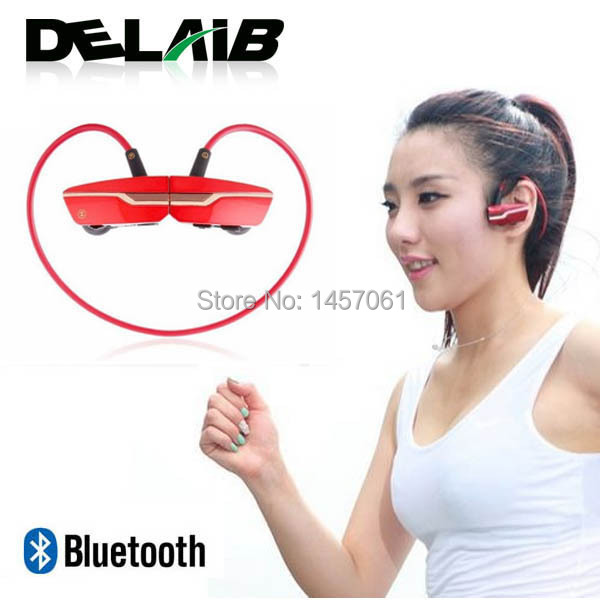 Sports Wireless fone Bluetooth stereo Headset Earphone headphones for iPhone 5 6 Galaxy S4 S3 s5 mp3 player mobile handset(China (Mainland))