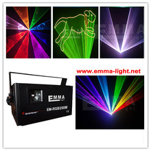 3W Dmx Rgb Stage Laser Lighting / LASER LIGHTING RGY SD Card Control(China (Mainland))