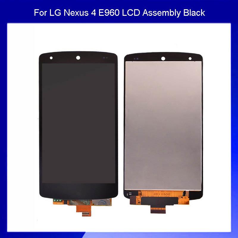 100% тест для LG Гугл Nexus 5 D821 и d820 ЖК-экран с сенсорным экраном digitizer Ассамблеи  !!! Черный