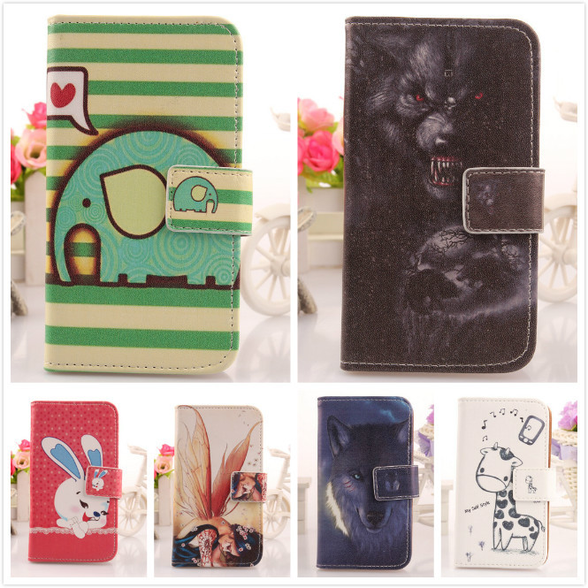 ABCTen Case Prestigio MultiPhone 5453 Duo Lovely comic Cartoon Book style Flip PU Leather cell phone Cover Skin - nicholas lau's store