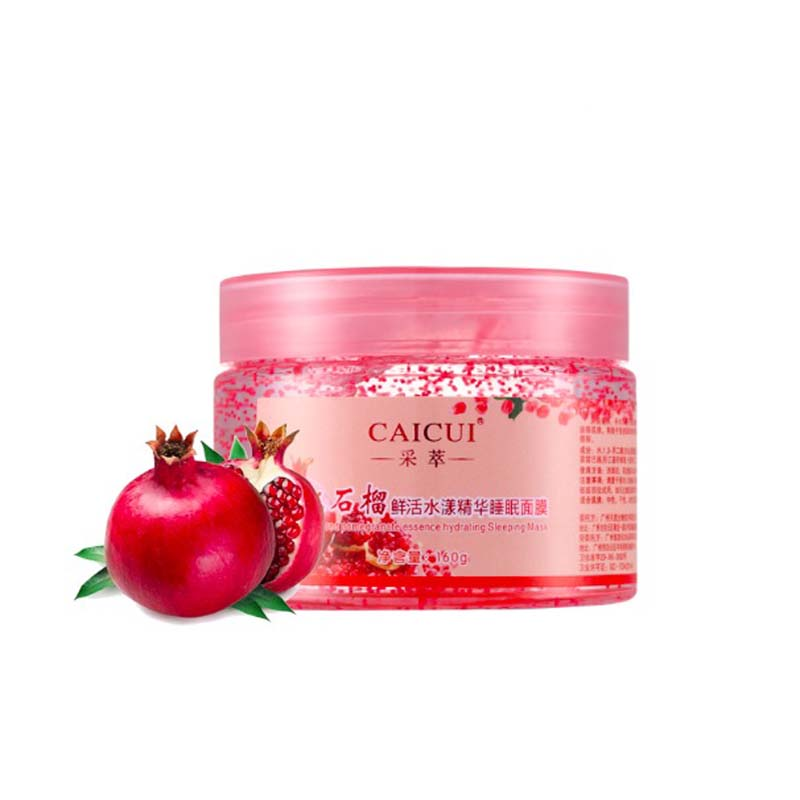 2016 New Red pomegranate essence mask face care tony moly hyaluronic acid facial mask spring summer whitening moisturizing 160g