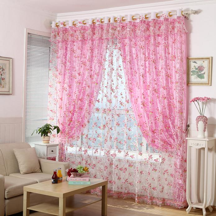 Popular Pink Window Treatments-Buy Cheap Pink Window