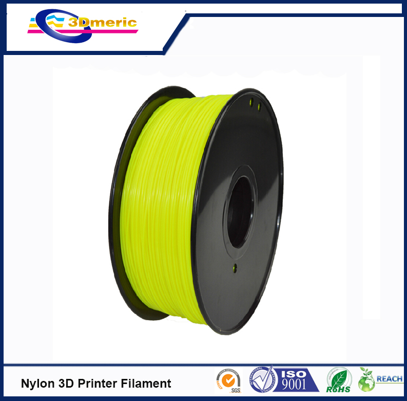 3D printer filament 1 75mm Nylon PA extruded plastic natural colour 3D printer material high strength