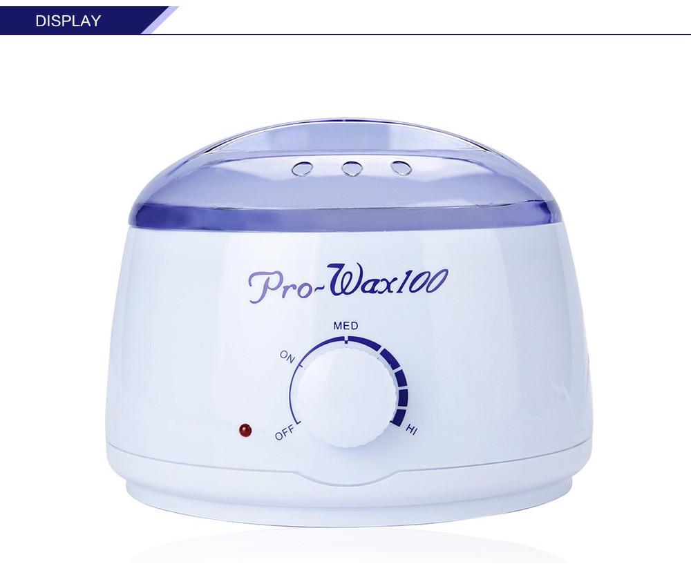 Professional Warmer Wax Heater Mini SPA Hand Epilator Feet Paraffin Wax Rechargeable Machine Body Depilatory Hair Removal Tool