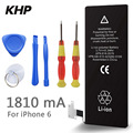 Brand New 1810mAh 3.8V Li-ion Internal Battery Replacement for iPhone 6 6G With Repair Tools