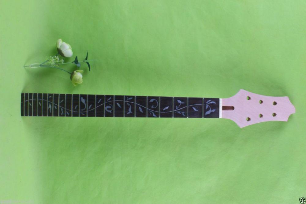 New Electric guitar neck 22 fret 25.5 Mahogany wood Guitar Fretboard #1746<br><br>Aliexpress