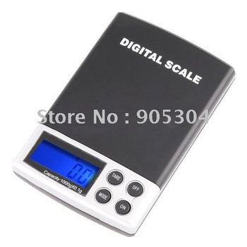 wholesale 1000g x 0.1g Digital Pocket Scale Jewelry Weight Scale  free shipping