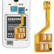 Three SIM Card Adapter for Samsung Galaxy S5/G900 S IV/i9500 S III/i9300 Note 4 Note III/N9000 Note II/N7100 Mega 6.3/i9200 etc(China (Mainland))