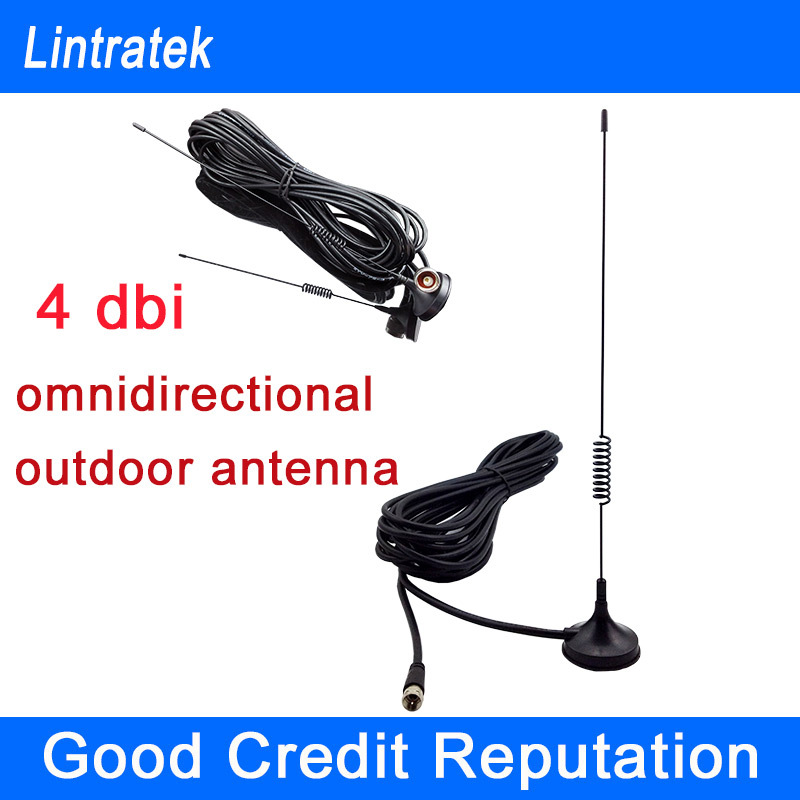 2014 New Gain 4dbi omnidirectional outdoor antenna with 10m cable for CDMA booster 850Mhz & GSM repeater 900Mhz(China (Mainland))