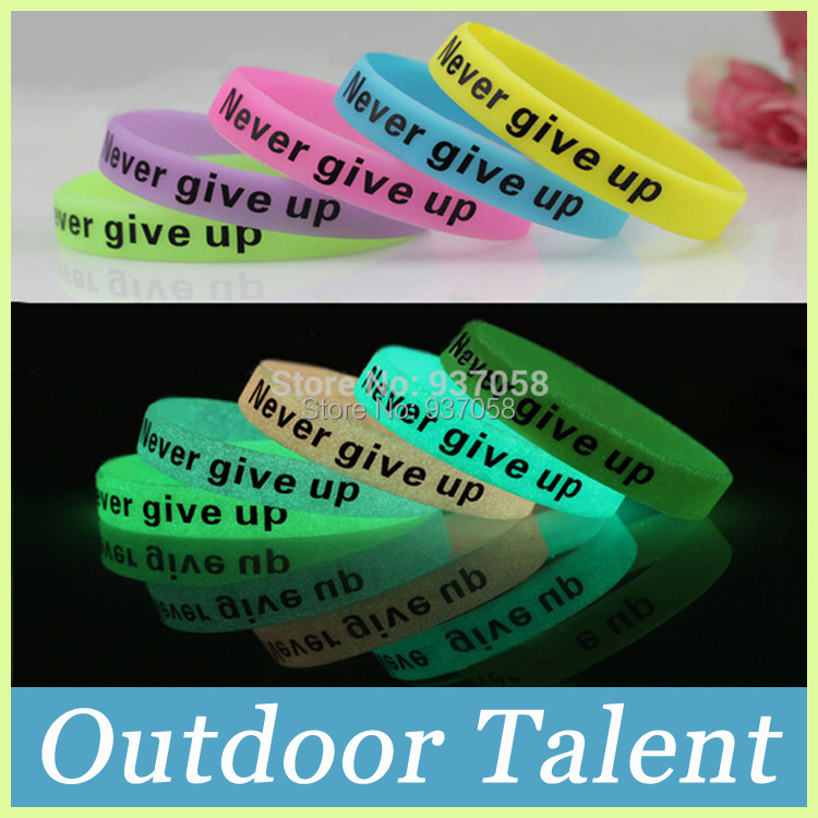 Free Shipping  Version 5-Colors 5pcs/lot  Luminous Basketball Silicone Bracelets Bangles Sports Wristband Wrist Band(China (Mainland))