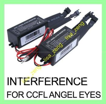 2 X Spare INTERFERENCE inverter FOR CCFL Angel Eyes Light Halo Ring 12V  (1 pair)