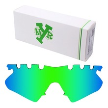 MRY POLARIZED Replacement Lenses for Oakley M Frame Heater Vented Sunglasses Emerald Green