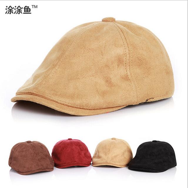 Горячая распродажа! 1 шт. розничная бесплатная доставка сплошной цвет англии стиль мальчик шапка для девушка берет малыш шляпа на 3-6yrs