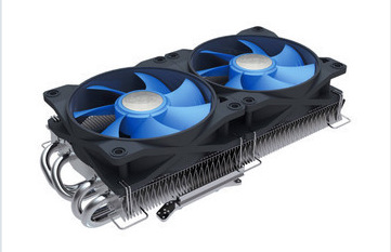 New 4 Heat Pipe NVIDIA/ATI Graphics Card Cooler Fan Deepcool V4600 Cooling Fan(China (Mainland))